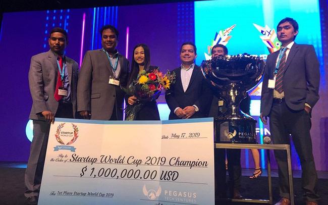 Cơ hội dành  giải thưởng1 triệu USD cho Start-up  Việt