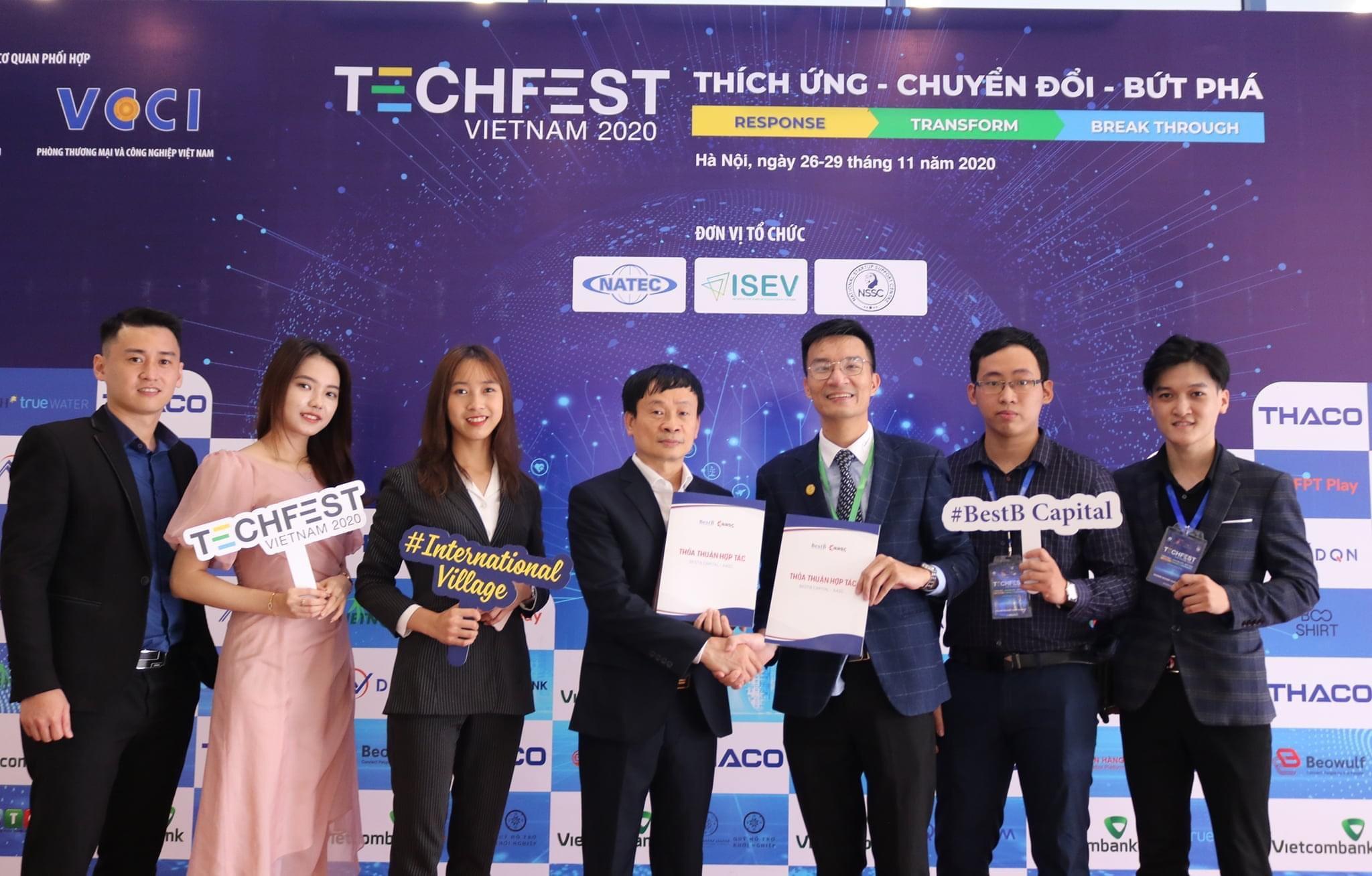 Hợp tác chiến lược giữa BestB Capital và AASC tại TechFest Vietnam 2020