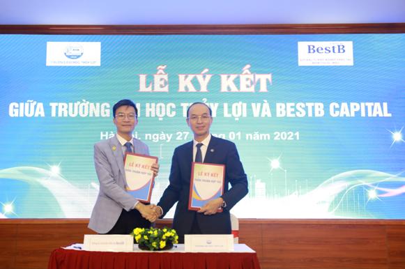 BestB Capital và trường Đại học Thủy lợi ký kết hợp tác đào tạo, ươm tạo các dự án khởi nghiệp